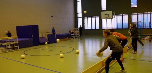 Abenteuerlandschaften in der Sport/ Turnhalle (Sportschule Hachen)
