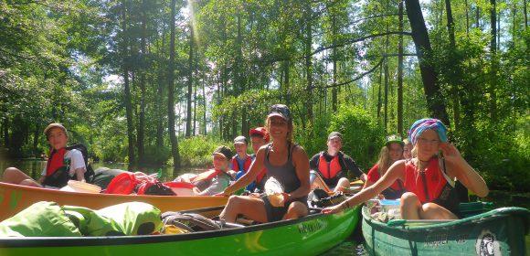 Kanu Sommerferiencamp – noch freie Plätze